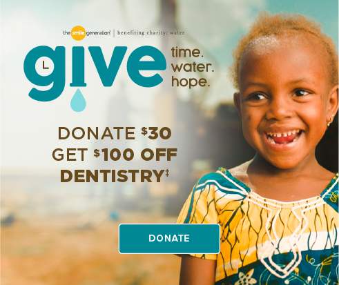 Donate $30, Get $100 Off Dentistry - Dentists of Covington